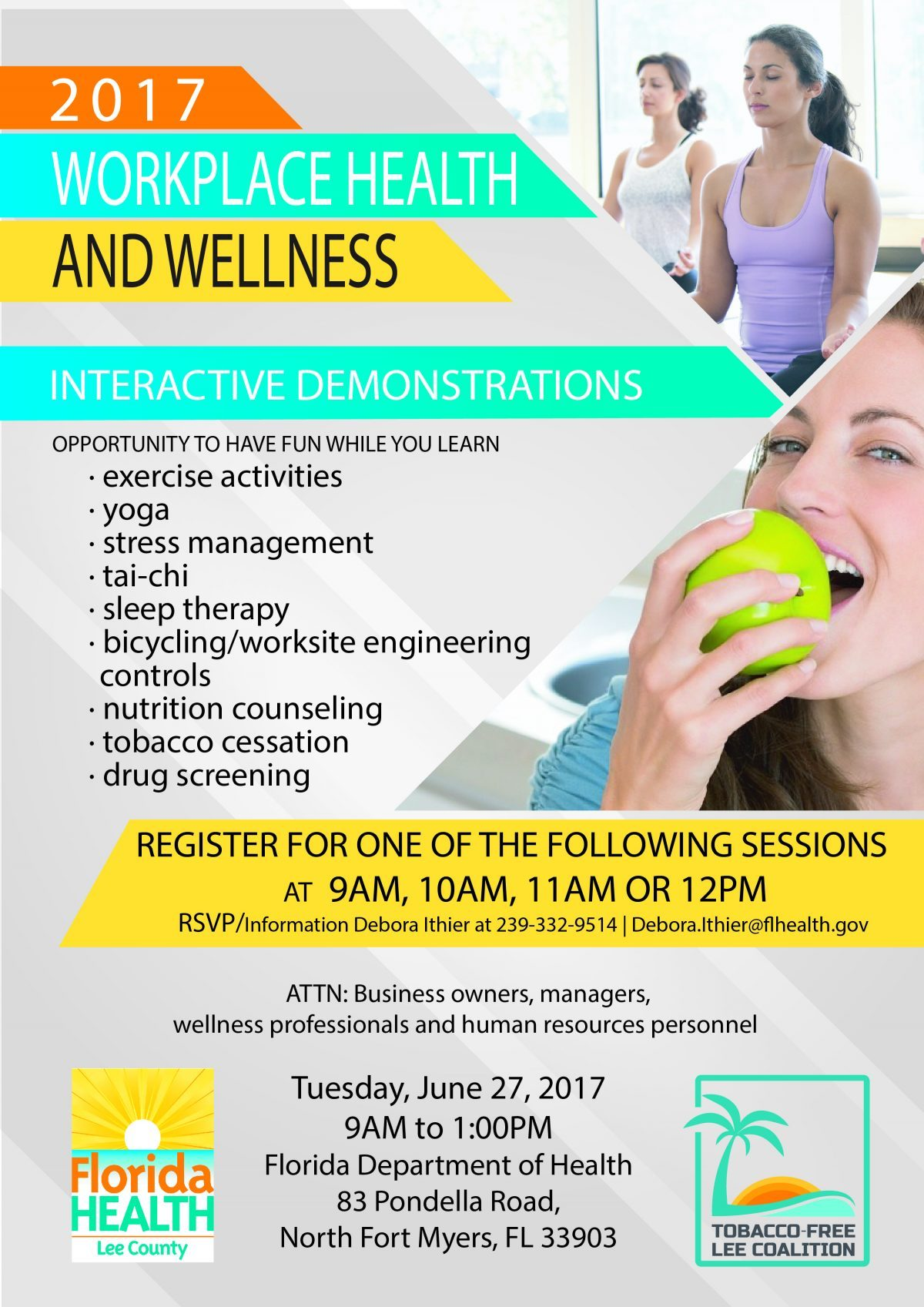 2017 Workplace Health And Wellness Healthy Lee Lee